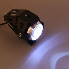 U5 125W Motorcycle Angel Eye Lamp LED Driving Fog Spot Headlight LED Light IJ