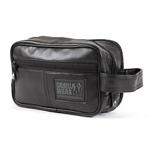 Gorilla Wear Toiletry Bag – Black Schwarz Kulturbeutel Fitness Bodybuilding