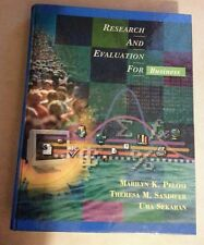 Research and Evaluation for Business by Uma Sekaran, Marilyn K. Pelosi and...