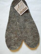NWT  NEAFP ALPACA BOOT/SHOE INSOLES/INSERTS-LINERS-XL-Made in USA