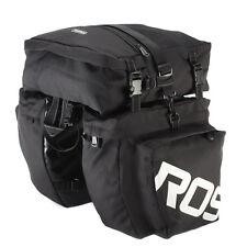 37L Roswheel Bike Bag Waterproof Rear Rack Bicycle Folding Dual Bicycle Pannier