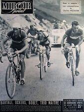 CYCLISME N° SPECIAL TOUR DE FRANCE 12e ETAPE LUCHON TOULOUSE MIROIR SPRINT 1949