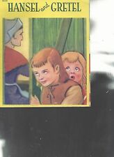 Hansel & Gretel Children's Picture Book Samuel Lowe Company 1944