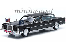 GREENLIGHT 86110 C 1972 LINCOLN CONTINENTAL RONALD REAGAN PRESIDENTIAL LIMO 1/43