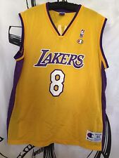 Vintage Los Angeles Lakers Kobe Bryant Champion NBA Basketball Jersey 44 L Team