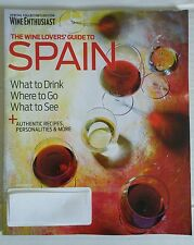 """WINE ENTHUSIAST Magazine GUIDE TO SPAIN COLLECTORS EDITION """"WHAT TO DRINK"""""""