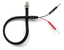 Mirror Wire Power Cord for Valentine V1 Radar Detectors w/ Inline Fuse RJ11