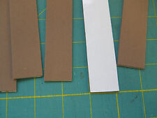 "4 pcs 2mm 1""x9"" sticky back closed cell foam in brown or black. Free shipping"