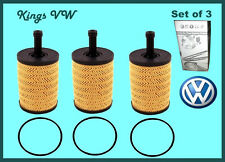 Set of 3 Genuine Oem VW Volkswagen Audi Oil Filter Cartridges 071 115 562 C