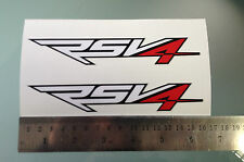 RSV4 Stickers / Decals for Aprilia RSV4 Tail Unit Sides (Any Colour)