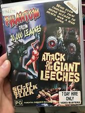 Attack Of The Giant Leeches  / Phantom From 10000 Leagues ex-rental DVD (sci-fi)