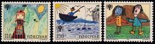 FAROE ISLANDS 1979 Int. Year of Child 3v set MNH @M240