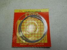 Suzuki NOS RM125, 1981-87, Piston Ring Set, OS 0.25, # 12140-14110-025    S-28