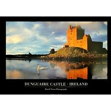 "DUNGUAIRE CASTLE, IRELAND - DAVID NOTON 91 x 61 MM 36 x 24"" LANDSCAPE POSTER"