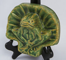 Pewabic Pottery Frog Art Tile from an Old Design ***