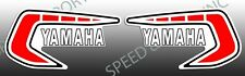 YAMAHA 1981 YZ60 FUEL GAS TANK DECALS GRAPHIC EMBLEM EURO EUROPEAN COLOR RED