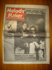 MELODY MAKER 1979 OCT 13 CHIC SPORTING LIFE GANG OF 4