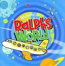 New Sealed Disney's Welcome to Ralph's World by Ralph's World Cd DVD Songs Music
