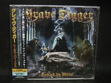 GRAVE DIGGER Healed By Metal + 3 JAPAN CD Running Wild Hawaii Zillion Domain