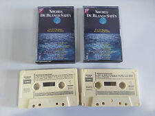 NOCHES DE BLANCO SATEN - DOBLE 2 X CASSETTE TAPE CINTA EMI 1991 SPANDAY BALLET