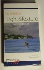 Incredible Light and Texture in Watercolor by James Toogood VHS - New SEALED