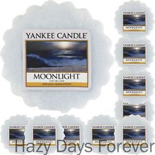 10 YANKEE CANDLE WAX TARTS Moonlight NEW 2016 MELTS Fresh Scented
