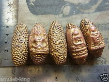 5 Magnetic Buddha's from Wat Phra Kaew THE EMERALD BUDDHA TEMPLE! Benjapakee set