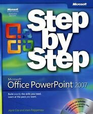 Microsoft Office PowerPoint 2007 Step by Step, Cox, Joyce, Lambert, Joan, Good B