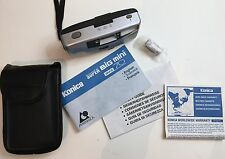 KONICA Super BIG mini APS Point & Shoot Camera BM-S70 NIB Case Manual Silver