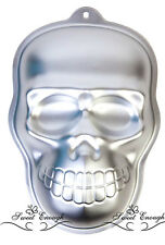 Skull Cake tin Pan Halloween Mould baking Jelly