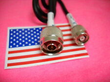 RF pigtail cable RP-TNC male to N type male RG58 1M MADE IN USA