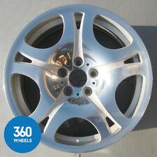 "1 X GENUINE BMW 6 SERIES 19"" 5 SPIDER SPOKE POLISHED ALLOY WHEEL 36116760627"