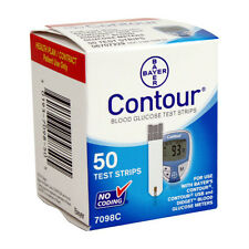 Bayer Contour Blood Glucose 50 Test Strips Special Expiration Date 04/2018