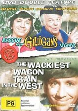 Rescue From Gilligan's Island / The Wackiest Wagon Train In The West (DVD, 20...