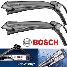 BOSCH WIPER BLADES CLEAR ADVANTAGE 24 & 19 Front Left and Right Set