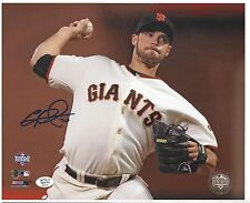 George Kontos SF Giants Auto 8x10 photo - Signed in Store 3/30/13 - 2012 WS