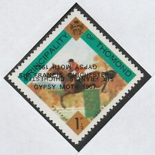 Ireland - Thomond (910) 1967 Gypsy Moth opt DOUBLED, one INVERTED on 1.5d u/m
