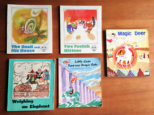 Lot of 5 Children's picture books, China fairy tale, comics