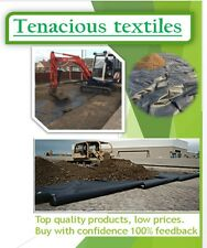 Woven Geotextile Membrane,High Quality Geotec 90 Terram Equivalent,4.5x100m roll