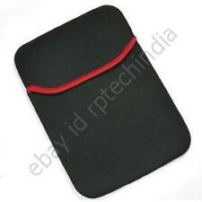 LAPTOP SLEEVE TABLET CASE BAG POUCH NETBOOK SMALL  9 10 10.1 10.2 BLACK RED #405