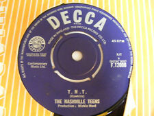 THE NASHVILLE TEENS T.N.T. Ex Decca UK 1964 7""