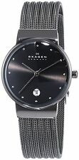 Skagen Women's 355SMM1 Ancher Crystal Stainless steel Watch