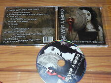 NEVER A HERO - BLEED BETWEEN THE LIES / ALBUM-CD 2011 MINT!