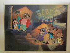 Robin Harris Bebe's Kids Signed by Bruce Smith Hand painted Animation  Cel