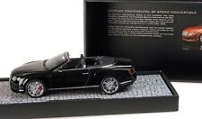 MINICHAMPS 2013 Bentley Continental GT Speed Cabrio Black LE 999pcs 1:18 New!