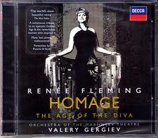Renee FLEMING: HOMAGE The Age of the Diva GERGIEV CD Smetana Korngold Puccini
