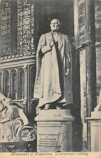 BR80064 monument of gladstone westminster abbey postcard london uk