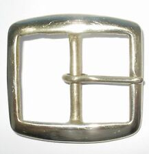 "1 3/4"" INCH 45MM SOLID CAST BRASS FULL BELT BUCKLE"