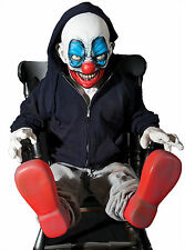Halloween LifeSize Animated GIGGLES CLOWN LATEX Animatronic Prop Haunted House