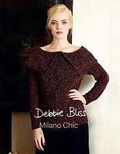 Milano chic motif livret par debbie bliss-dept boutique retour